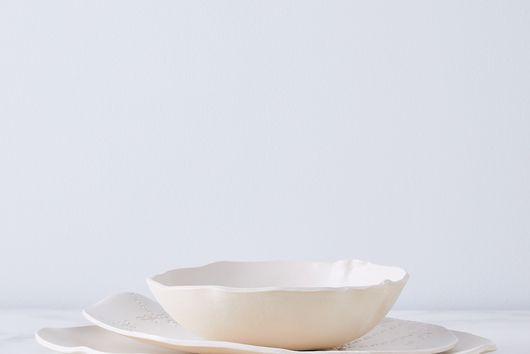 Handmade French Lace Dinnerware