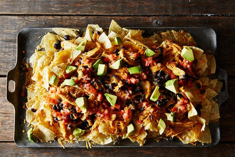 Nachos—what Americans eat for dinner every night, right?