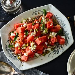 A Crisp, Tangy Watermelon Salad for Sticky Summer Nights