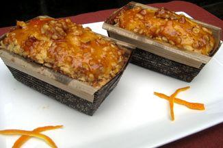 548ce427 04d4 43dc 9670 df804abcb176  orangeminicakes with apricot peachglaze 6 11 2012