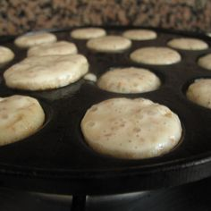 Bacon poffertjes