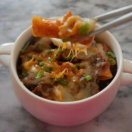 Cheese Rabokki (Spicy Korean Rice Cakes)
