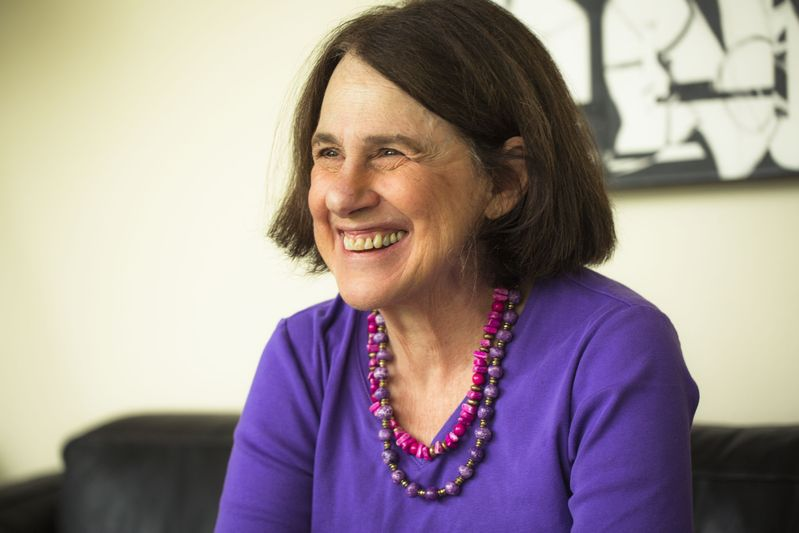 Paula Wolfert in 2015, two years after her diagnosis. © Eric Wolfinger / @ericwolfinger
