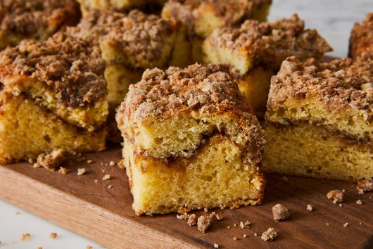 Sour Cream Coffee Cake With Cinnamon Swirl