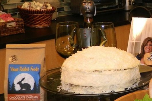 Chocolate Cake with Coconut Cream Frosting