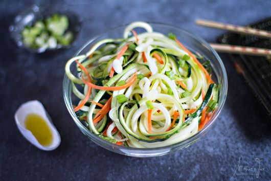 Quick and Easy Asian Zucchini Salad
