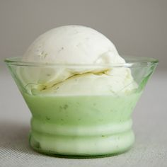 The Best Lime Ice Cream