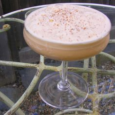 Frozen coffee silk