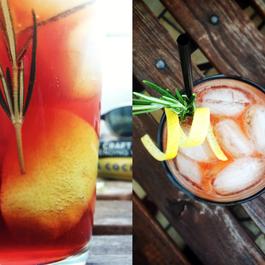 Rosemarycano Cocktail