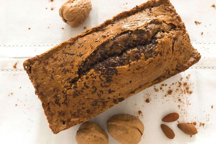 Organic Walnut, Almond & Raisin Bread