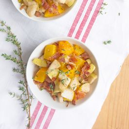 Thyme Roasted Apple & Butternut Squash Risotto