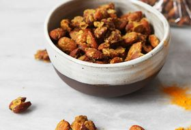 Ginger Curried Almonds