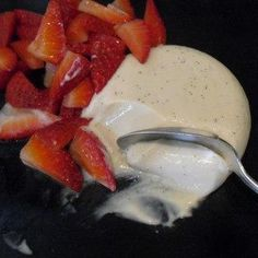 Vanilla Yogurt Panna Cotta
