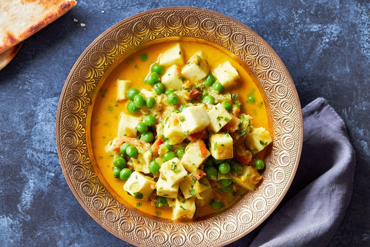 Instant Pot Pea & Paneer Curry