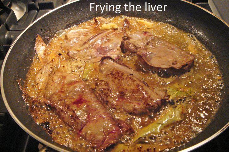Portuguese Marinated Liver – Iscas com Elas