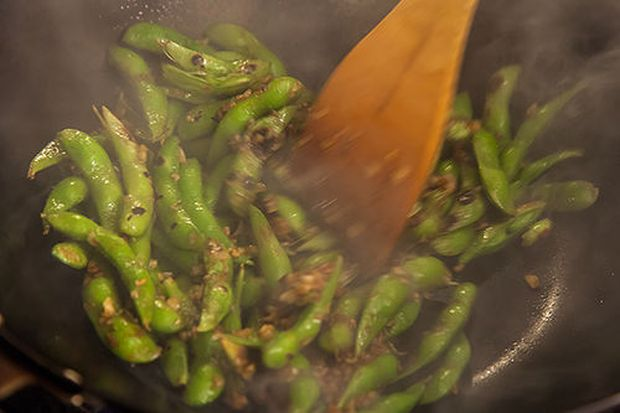 Black Bean Orange Peel Edamame