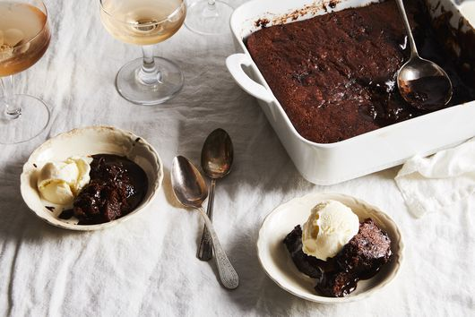 Grab a Spoon: This Brownie Pudding / Giant Lava Cake Awaits