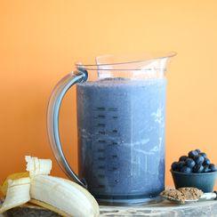 Creamy Blueberry Banana Smoothie
