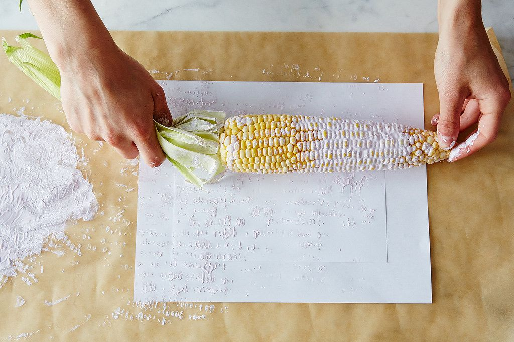 DIY Vegetable Stamp Menu