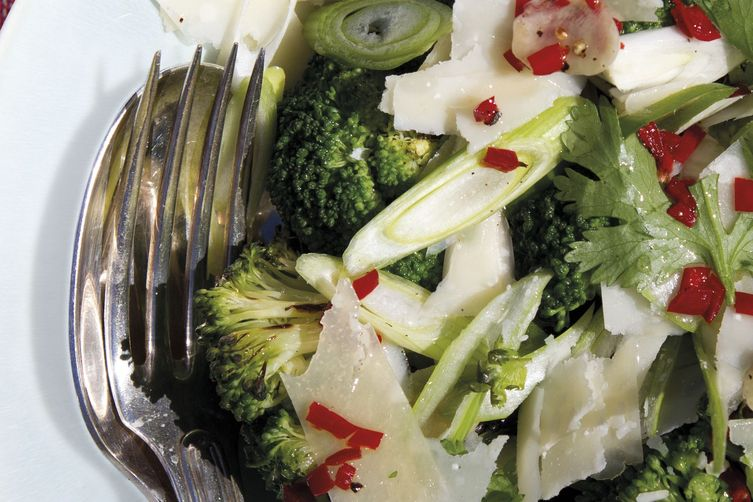 Annabel Langbein's Grilled Broccoli Salad