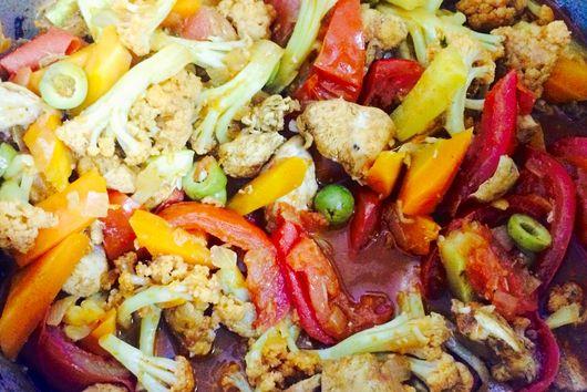 Marrakesh Magic Chicken & Vegetable Tagine