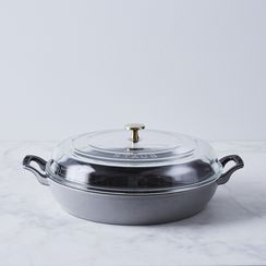 Food52 x Staub Multi-Use Braiser with Glass Lid, 3.5QT