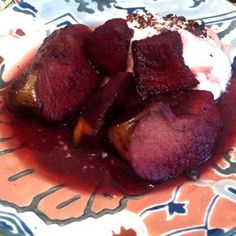 Poached Apples With Juniper Berries & Spices