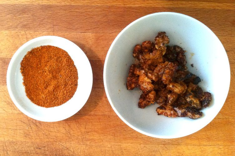 Garam Masala Honey Roasted Walnuts