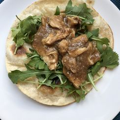 """Slow Cooked """"Beggar's'"""" Chicken Thighs"""