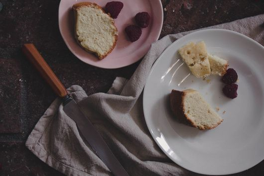 Earl Grey Olive Oil Pound Cake