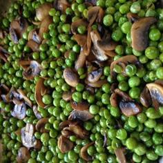 Marsala Mushrooms & Peas