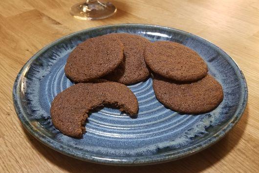 Deep Dark Magic Spice Cookies