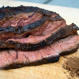 Smoky Cocoa Flank Steak
