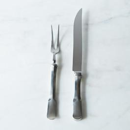 Olivia Pewter Carving Set