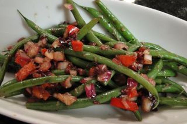 Balsamic Green Bean Salad Recipe on Food52
