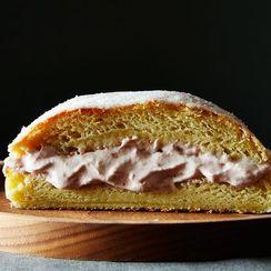 A Giant Jelly Donut Cake for Hanukkah