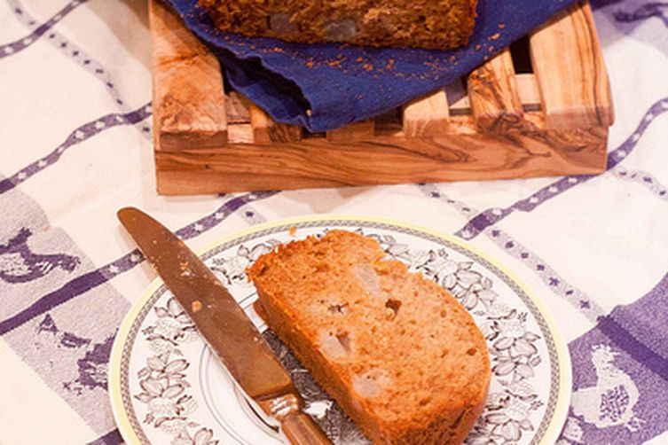 Pear Honey Buckwheat Bread
