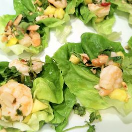Summer-Fresh Shrimp Thai Lettuce Appetizers