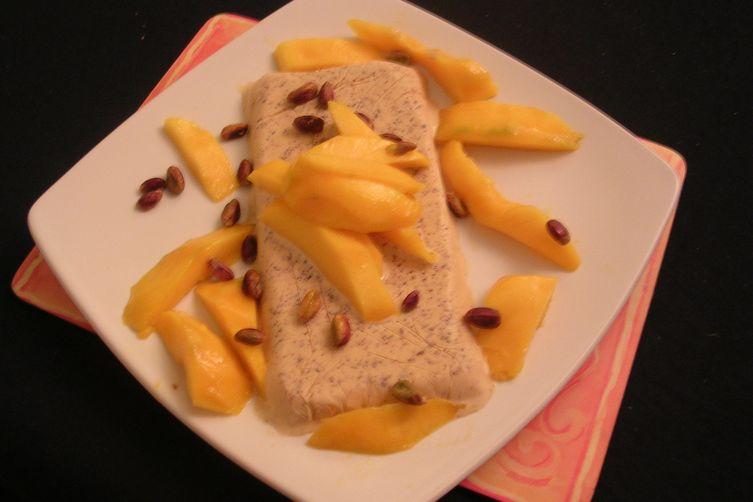 Mango and Pistachio Kulfi