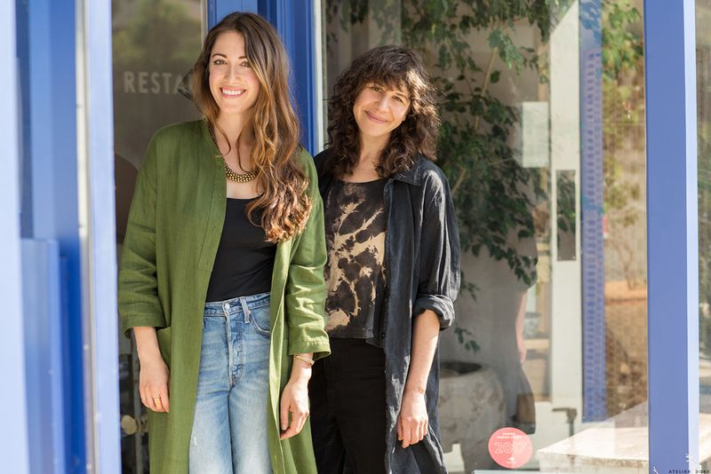 Botanica co-founders Heather Sperling and Emily Fiffer.