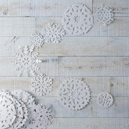 Snowflake Hanging Garlands (Set of 5)
