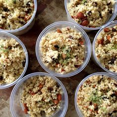 Quinoa Salad with Roasted Fennel and Caraway Seeds