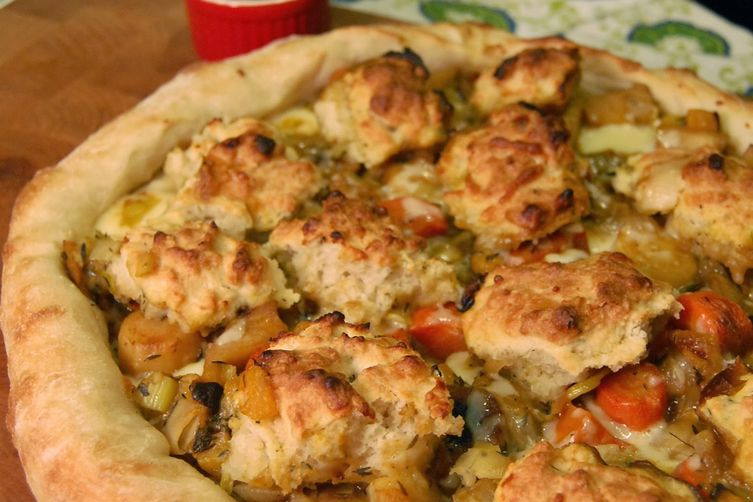Pot Pie Pizza
