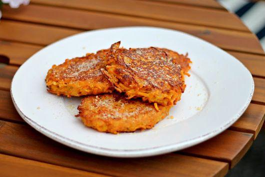 Parmesan Yamcakes