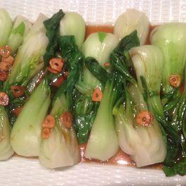 Bok Choy with Crisp Garlic