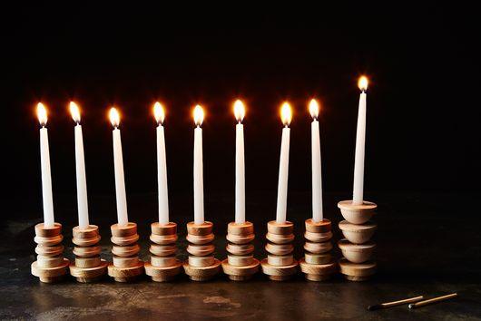 How to DIY a Chanukiah for 8 Glowing Nights