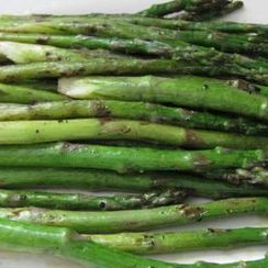 Grilled Asparagus with Curry, Lime and Lemongrass Aioli