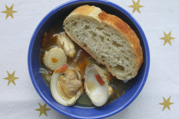 Bouillabaisse with Garlic Roux