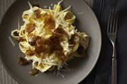 Diane Kochilas' Pasta with Yogurt and Caramelized Onions