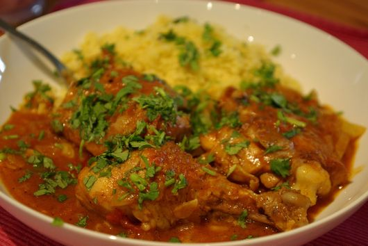 Moroccan Chicken with Preserved Lemons